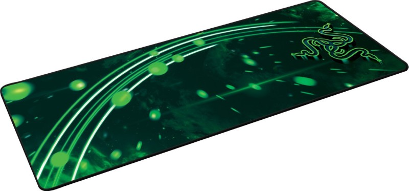 Razer Goliathus Speed Cosmic Edition Extended Mousepad(Black Green)