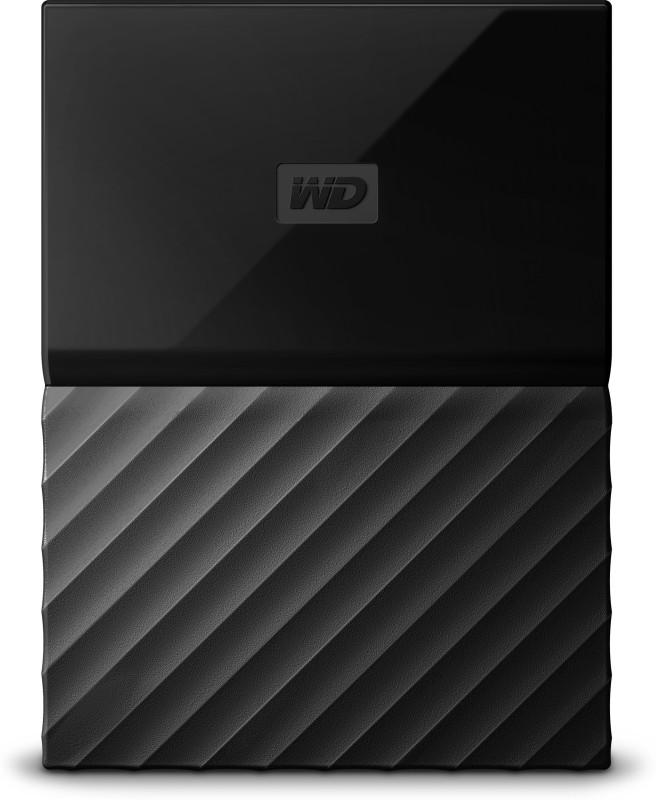 wd my passport 1 tb wired external hard disk driveblack -