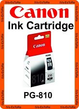 Canon PG-810 Ink Cartridge (Black) Part No 2977B008AB