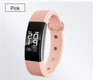 Easypro™ All Leading Smartphone Compatible Certified Bluetooth FitnessMust-1 Fitness Band with Heart Rate sensor Smart Band and fitness tracker (Pink)