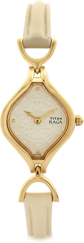 titan nh2531yl01 raga kitsch watch for women -