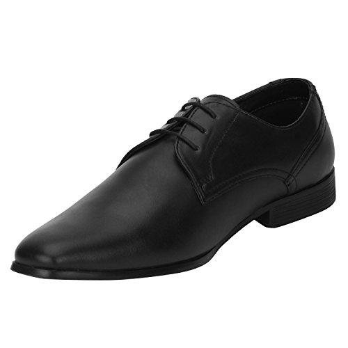 bond street by red tape mens black formal shoes 11 ukindia 45 eu -