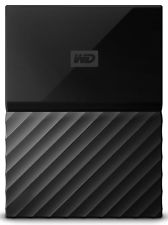 WD My Passport 2TB Portable External Hard Drive Black