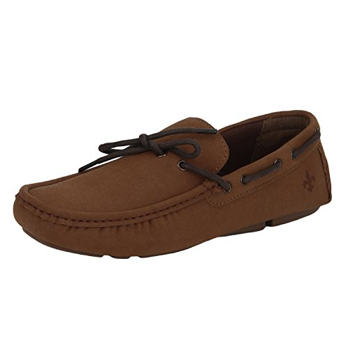 Bond Street by (Red Tape) Men's Tan Loafers – 7 UK/India (41 EU)
