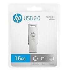 HP 16 GB Pen Drive V232W Steel 16GB