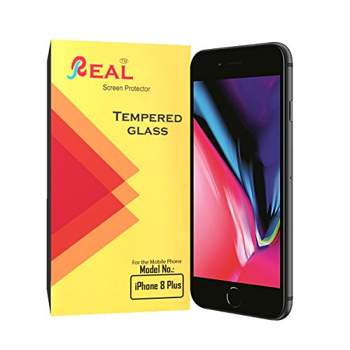 Real Tempered Glass Screen Protector For Apple iPhone 8 Plus