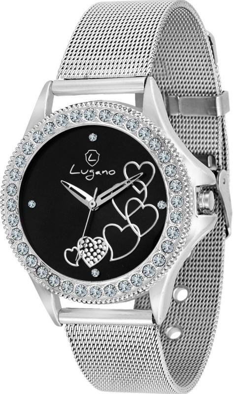 Lugano DE20023LG Sheffer Chain Watch  – For Women