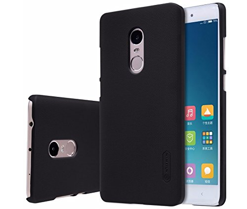 nillkin frosted shield slim fit back case cover for xiaomi redmi note 4 with -