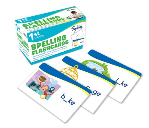 1st Grade Spelling Flashcards: 240 Flashcards for Building Better Spelling Skills Based on Sylvan's Proven Techniques for Success (Sylvan Language Arts Flashcards)