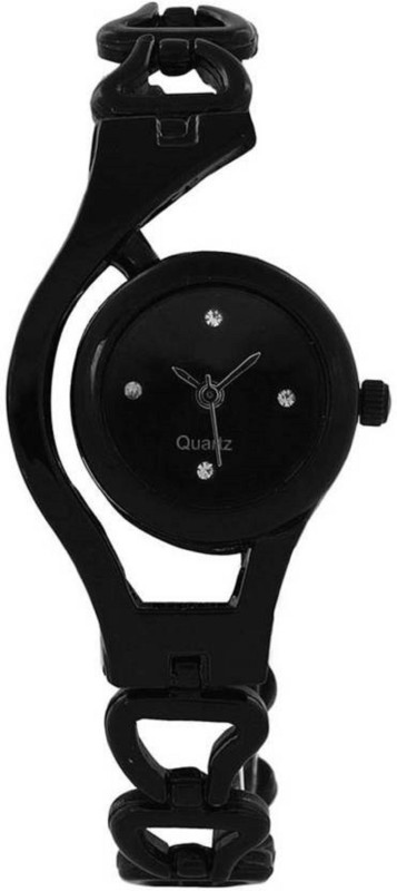 DV ENTERPRISE BLACK WC ANALOG WATCH FOR GIRLS OR WOMENS Watch  – For Girls