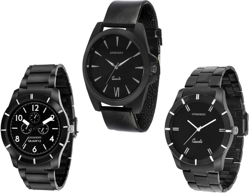 Casado 107nd706nd113 COMBO OF 3 HOPE Watch  – For Men