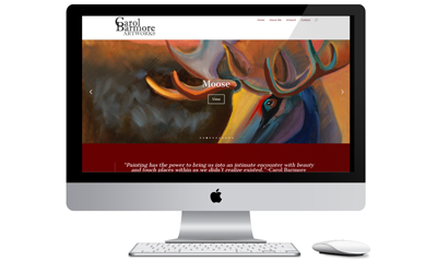 Local Artwork Business Website
