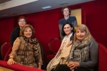 Cati Juan Pericas, Francisca Llompart Pericas, Margalida Socias, Teresa Vives, Miguel Colom © La Siesta Press / J. Fernández Ortega