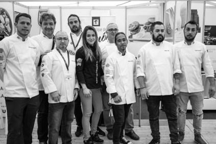 Koldo Royo y sus compañeros de Ascaib © La Siesta Press / J. Fernández Ortega