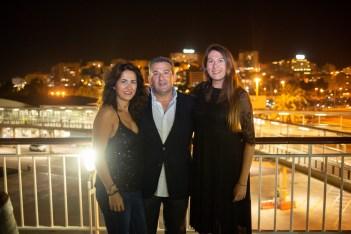 Tina Cuenca, Toni Molina e Izaskun Goya