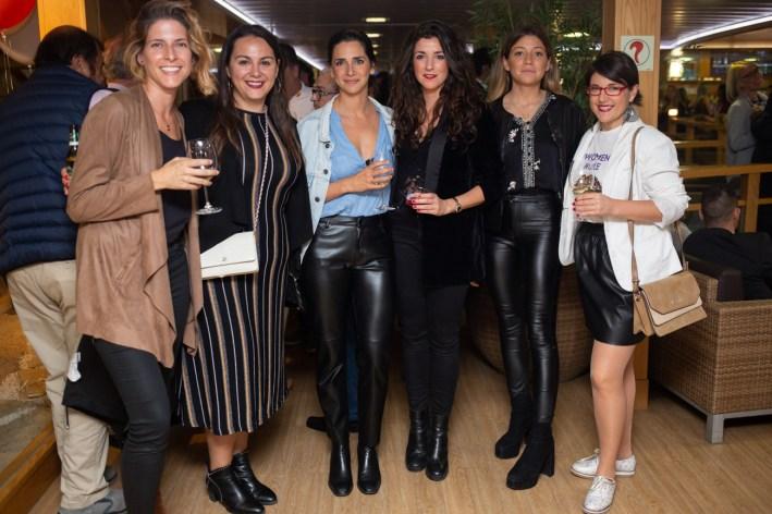 Gisela Domènec, Almudena Soriano, Melani Moreno, Medi Tarapiella, Amanda Galla y Gema Cristobal