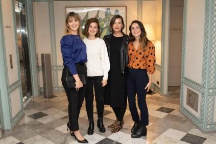 Judith Jurado, Mireia Escandell, Ania Endzelm, y Marina Ferrer