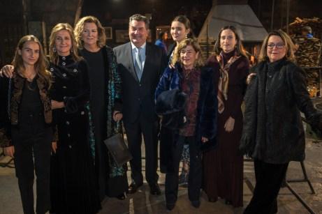 Mar, María Antonia, Daniel, Inmaculada y Marisa Aldeguer, Monica Bermejo, Marta Aldeguer y Mar Bermejo