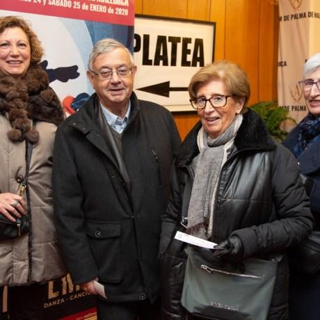 Soraya Valverde, Jordi Magriña, Carmen Quereda y Montse Quereda