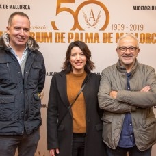 Marc Ferragut, Miguel Ángel Sancho y Anita Sancho
