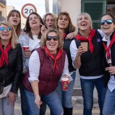 oana, Silvia, María, Toñi, María, Margarita, María Antonia, Tata,