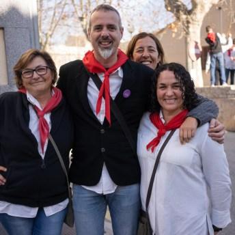 María M., Pere Piris, Catalina Piris y Antonia Clareta