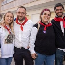 Raquel Mason, Antonio Artigues, Pilar Moreno y Pere Ginard