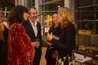 Alma López, Mariana Chacon, Bernat Vidal y la presidenta de la Fundación RANA Elizabeth Homberg
