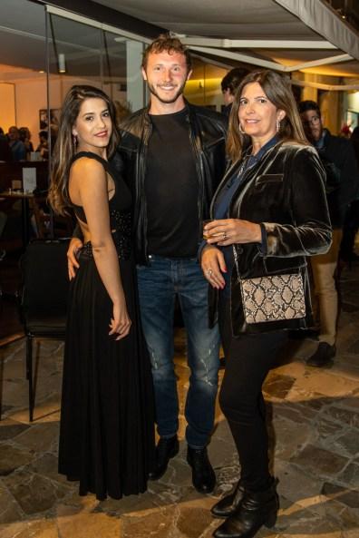Sol Busto, Liza Gabor y Oleg Savruk