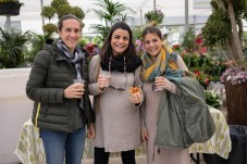 Melisa Nicolau, Lina Garcia y Elisa Albons