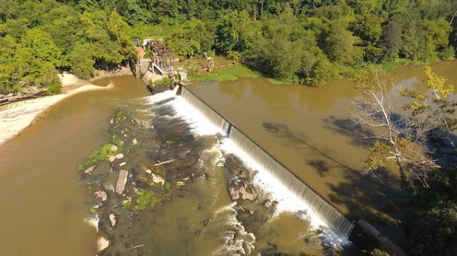 Milburnie Dam   Photo: Restoration Systems