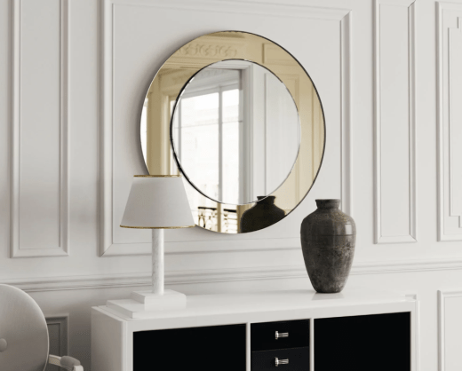 Rose Gold Mirror by Mirror Coop