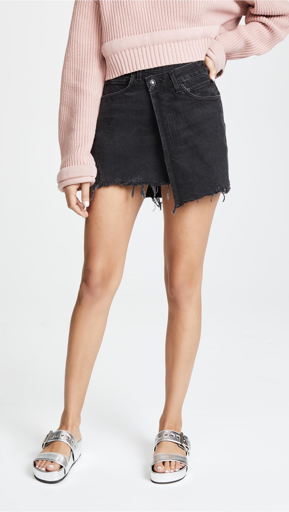 wrap skirt, wrap denim, jeans, denim skirt, a gold e