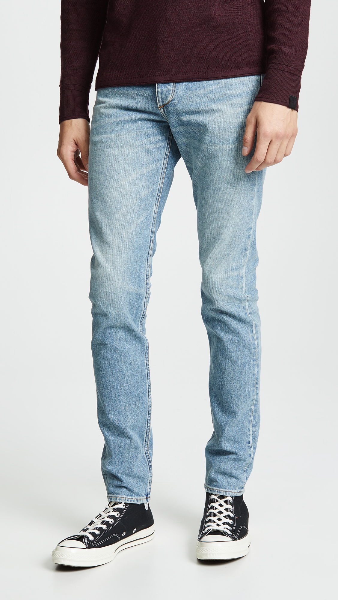 rag & bone jeans, skinny jeans, washed denim, stretch jeans, tapered jeans, slim fit jeans