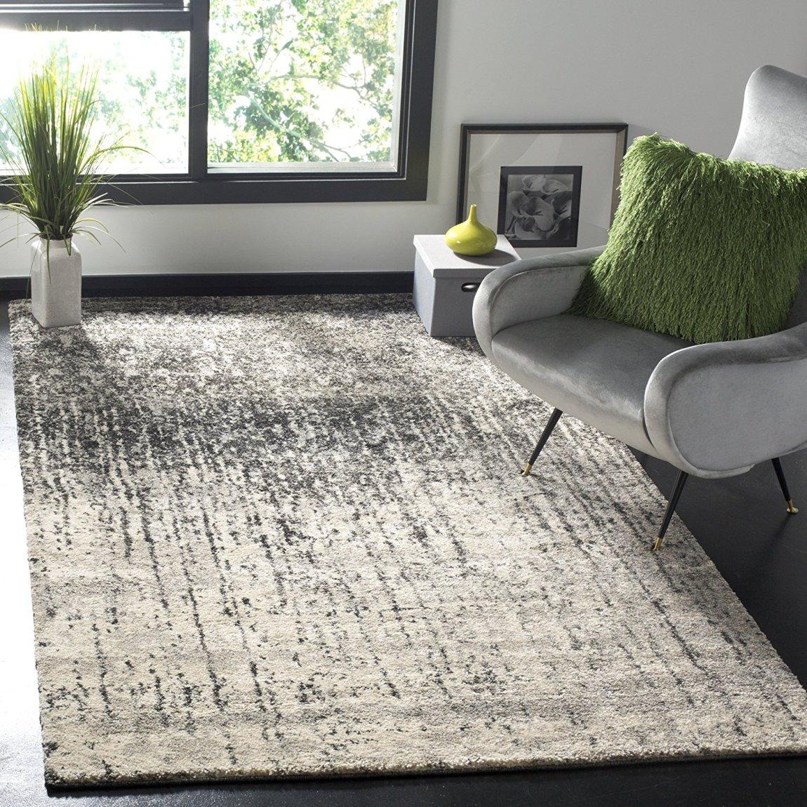 Modern Abstract Black