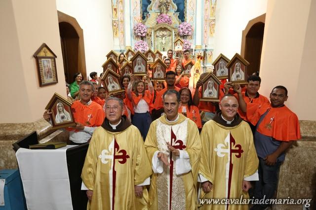 Em Jacobina – BA, Missões Marinas na Paroquia Santo Antônio