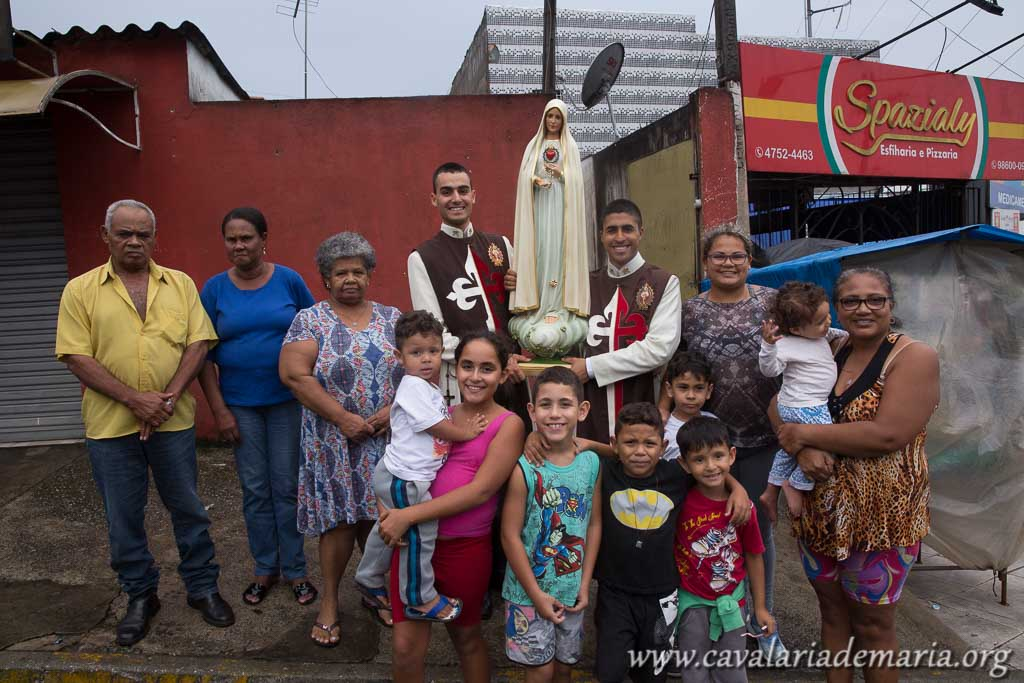 Em Suzano – SP, Missões Marianas na Paroquia Santa Rita de Cássia