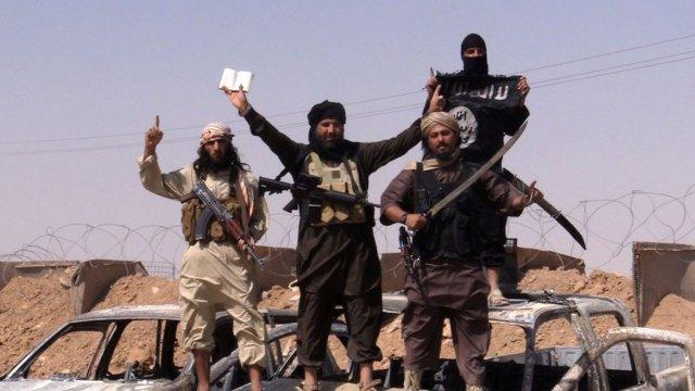 Terroristas de ISIS
