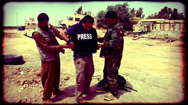 Angel Sastre es un reportero de guerra español que fue secuestrado por Al Qaeda (Archivo)