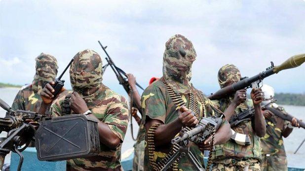 Terroristas de Boko Haram en Nigeria