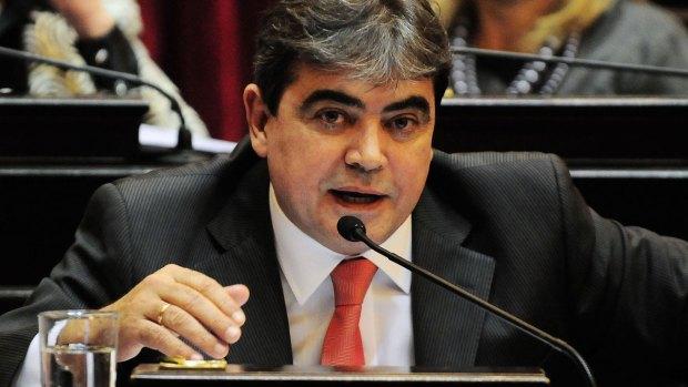 El ex senador del FPV Nicolás Fernández (NA)