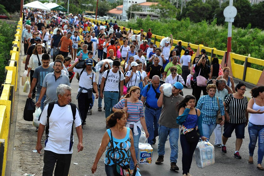 Rubio estimó que dos millones de venezolanos más podrían emigrar (AFP)