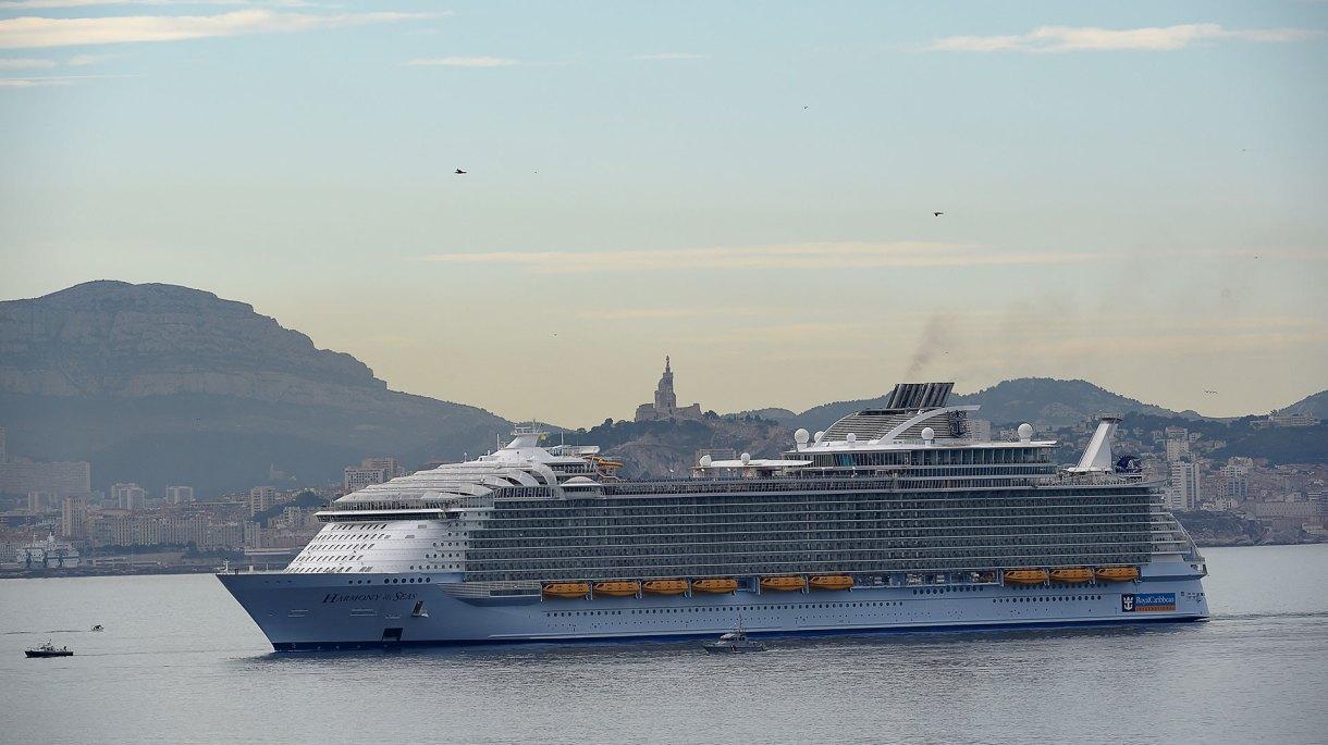 Es uno de los cruceros más grandes del mundo (AFP)