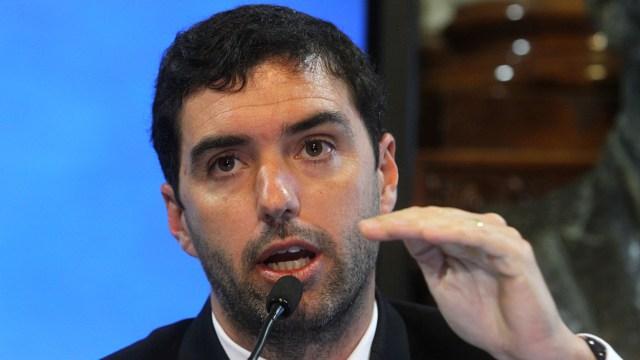 Emilio Basavilbaso, titular de la ANSeS. (DyN)
