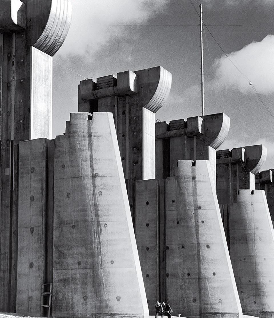 """Represa Peck Dam"" (Margaret Bourke-White, Estados Unidos, 1936)"
