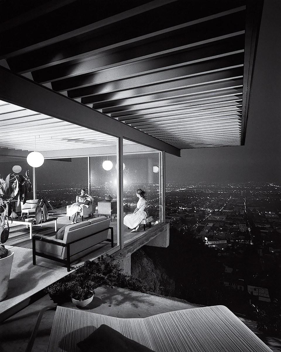 """"""" Case Study House n° 22, Los Ángeles"""" (Julius Shulman, Estados Unidos, 1960)"""