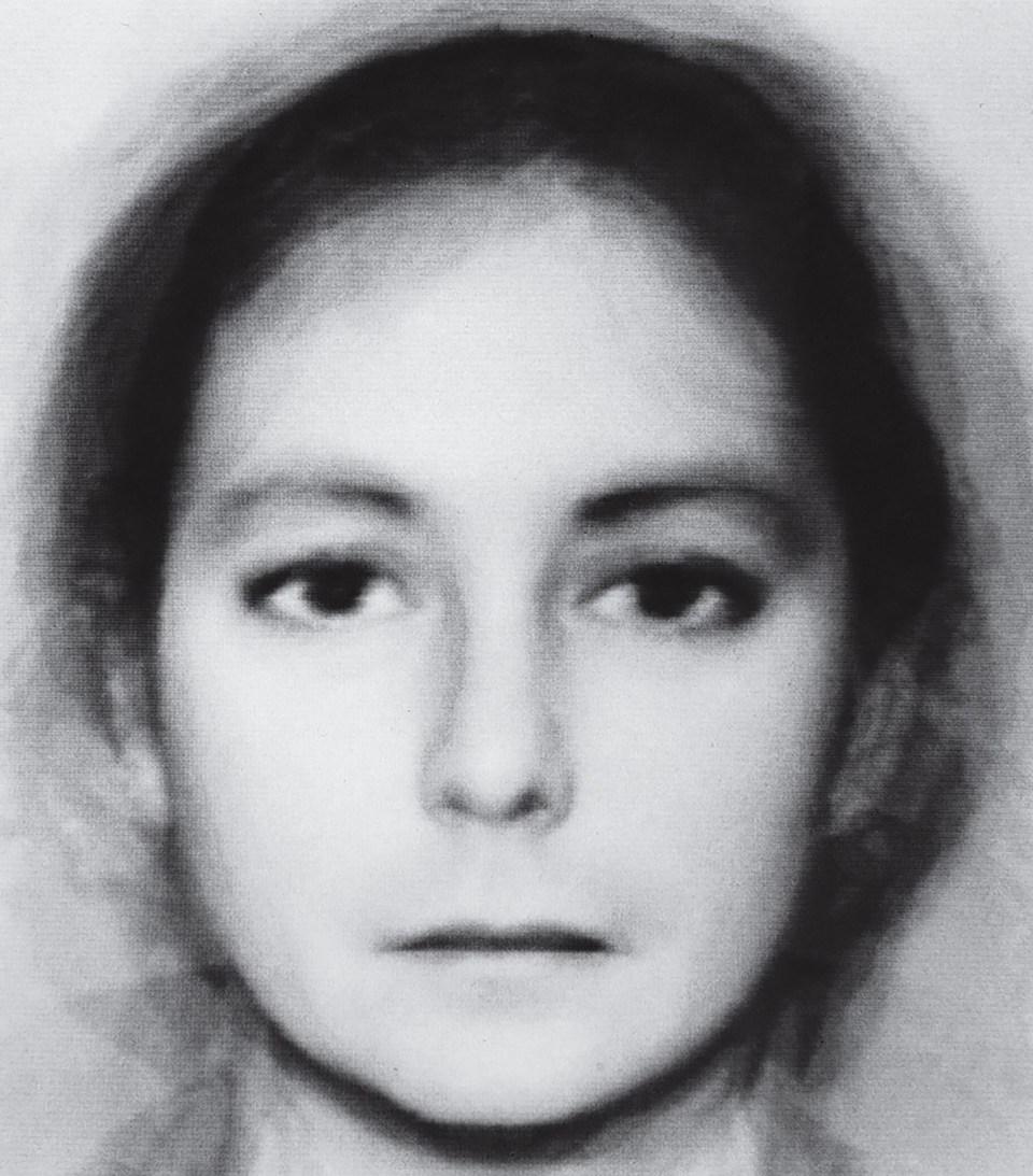 """""""Androginia (6 + 6 Hombres Mujeres)"""" (Nancy Burson, Estados Unidos, 1982)"""