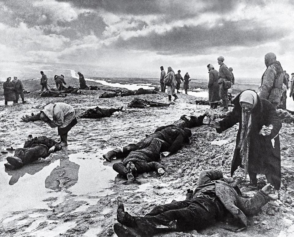 """Dolor"" (Dmitri Baltermants, Unión Soviética, 1942)"