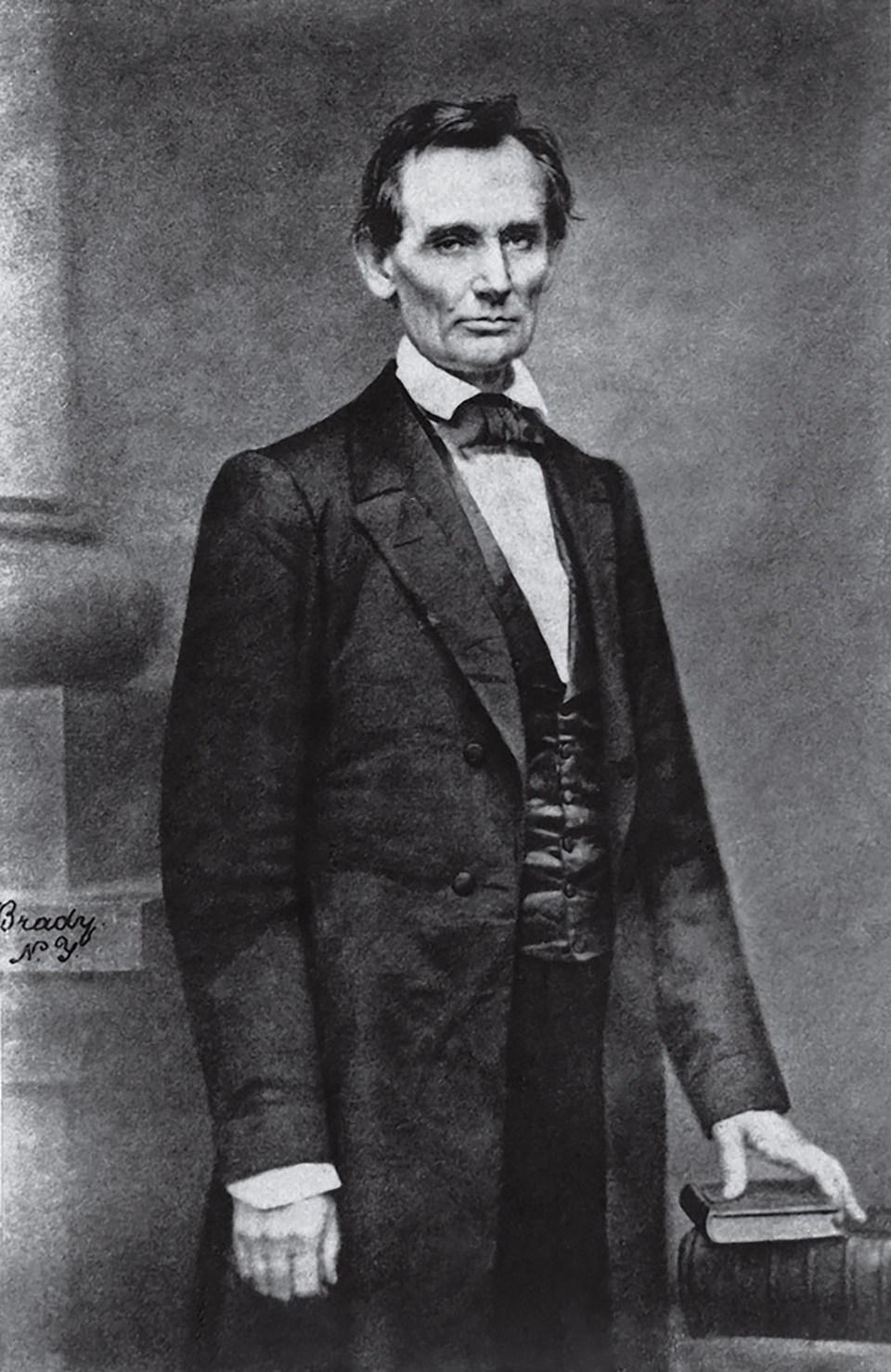 """""""Abraham Lincoln"""" (Mathew Brady, Estados Unidos, 1860)"""