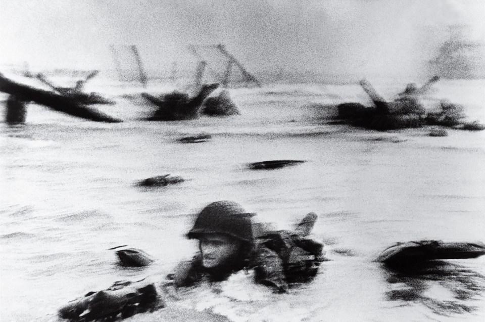 """""""Día D"""" (Robert Capa, Francia, 1944)"""